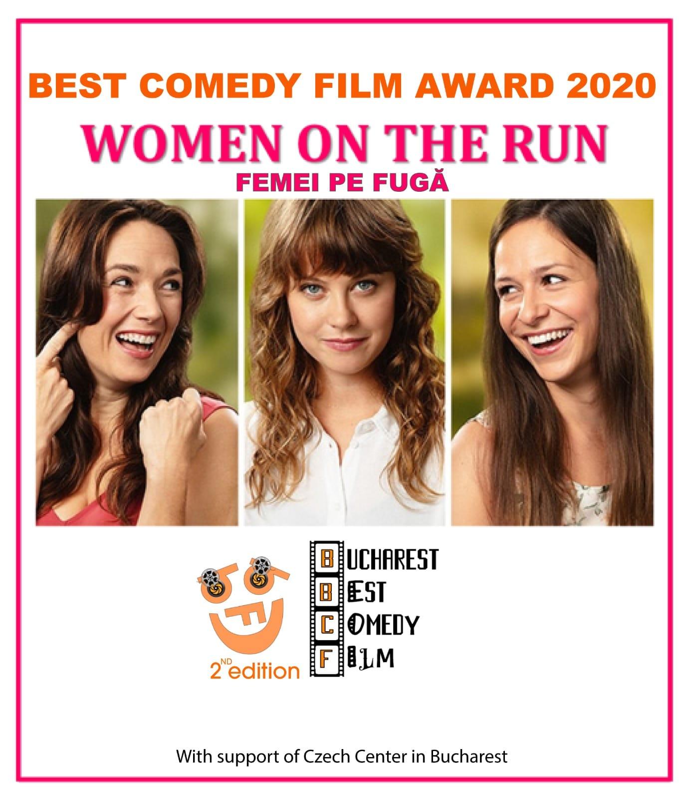 """Filmul """"Femei pe fugă"""" - Cehia a câștigat competiția  festivalului Bucharest Best Comedy Film 2020!"""