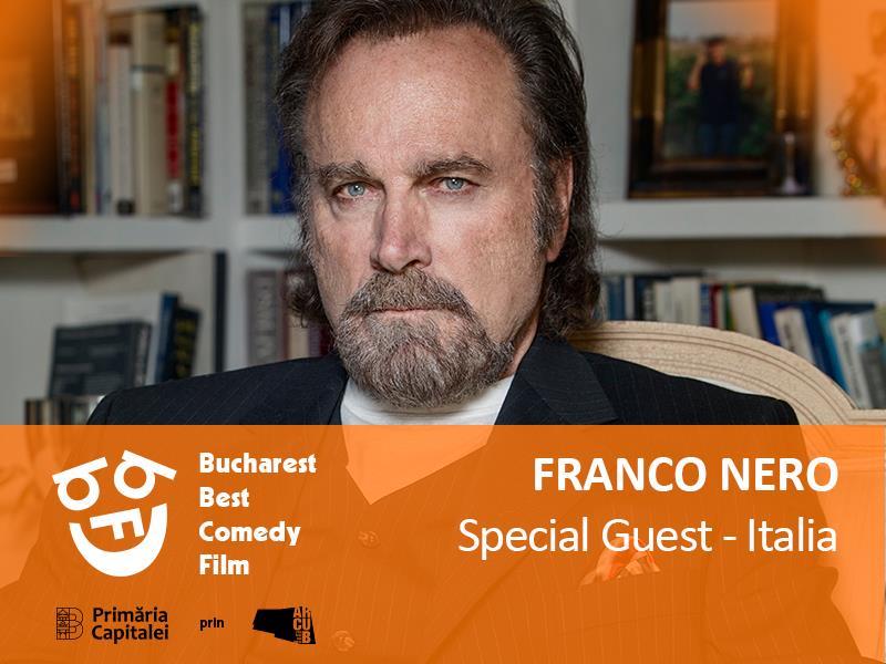 Franco Nero vine la București pentru întâlnirea juriului festivalului