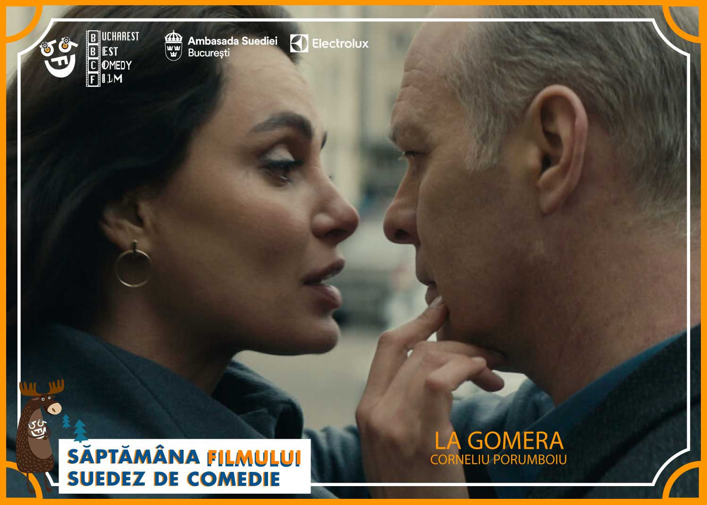 """Bucharest Best Comedy Film vă invită să vizionați """"La Gomera"""", filmul multipremiat al regizorului Corneliu Porumboiu (coproducție România, Franța, Germania, Elveția, Suedia, 2019), difuzat în premieră"""