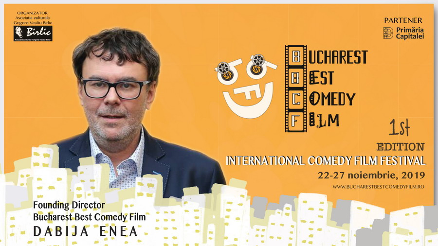 Enea Dabija - Founding Director, Bucharest Best Comedy Film