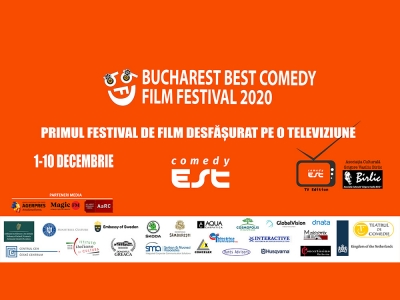 Bucharest Best Comedy Film Festival 2020 devine primul festival de film desfășurat pe o televiziune - ComedyEst