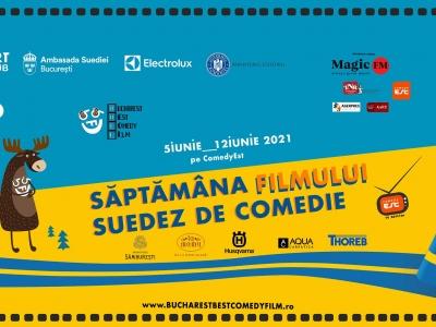 """""""Săptămâna filmului suedez de comedie"""", eveniment organizat de Bucharest Best Comedy Film împreună cu Ambasada Suediei la București"""