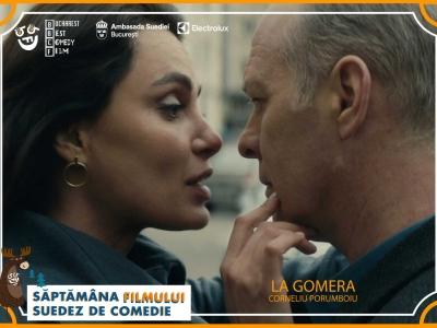 """Bucharest Best Comedy Film vă invită să vizionați """"La Gomera"""", filmul multipremiat al regizorului Corneliu Porumboiu (coproducție România, Franța, Germania, Elveția, Suedia, 2019), difuzat în premieră națională pe o televiziune."""