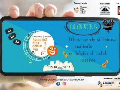 """Bucharest Best Comedy Film Festival vă invită la Campania """"Filme scurte și haioase"""""""