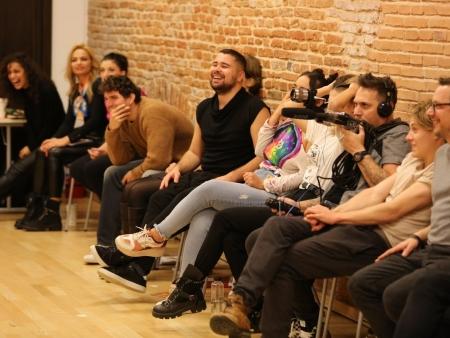"""Atelierul """"Arta actorului de comedie"""" / ziua 2"""
