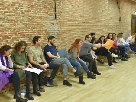 """Atelierul """"Arta actorului de comedie"""" / ziua 3"""